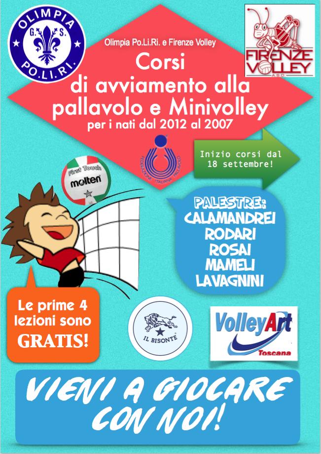 Fronte Volantino Minivolley 2017